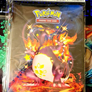 Charizard-VMAX-Gigantamax-Pokemon-TCG-Shining-Fates-Shiny-9-Pocket-Folder-Portfolio-Binder-Front