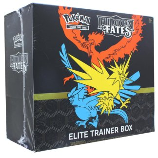 Hidden Fates Elite Trainer Box ETB