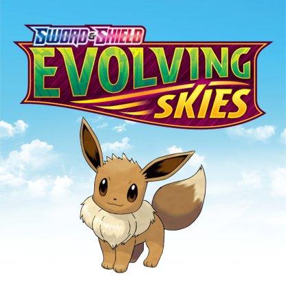 Evolving Skies Eevee Pokemon Logo