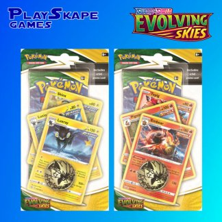 Evolving-Skies-Sword-And-Shield-Pokemon-TCG-SWSH7-Cards-Premium-Checklane-Blister-Pack-Emboar-Luxray