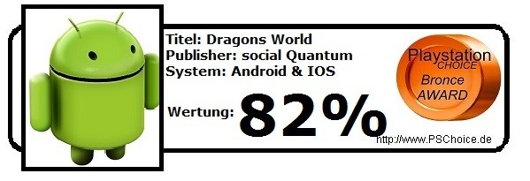 Dragons World - Die Wertung von Playstation Choice