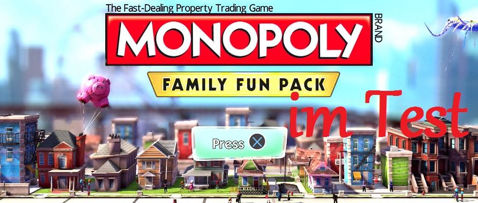Klassisches Brettspiel auch auf PS4 - Monopoly Family Fun Pack im Test
