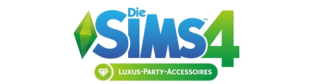 Sims 4 Luxus Party Logo