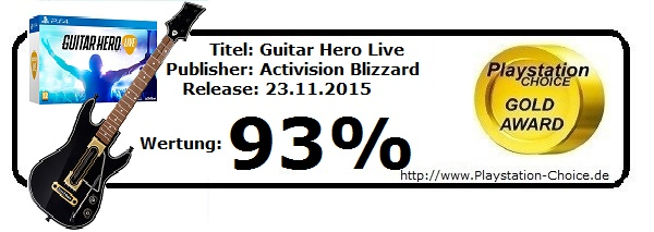 Guitar Hero Live-Die-Wertung-von-Playstation-Choice