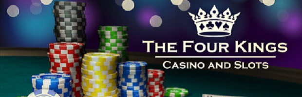 Four Kings Casino Header