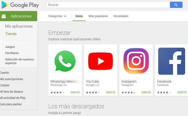Download Google Play Store For Pc Play Store En