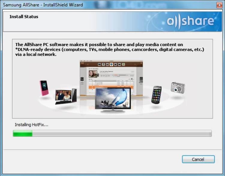 AllShare for PC