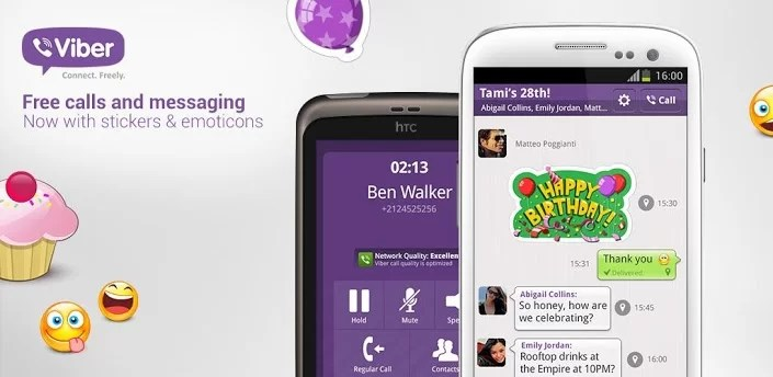 Download Viber App for Android – Make Free Calls and Video Chat