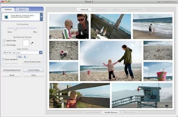 Picasa for Mac