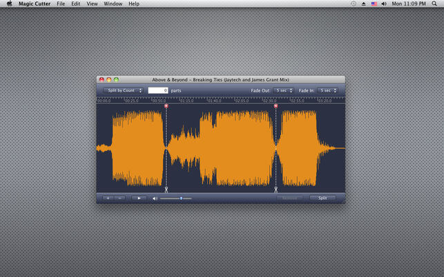 MP3 Cutter for Mac