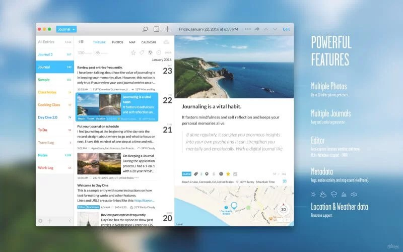 Journal for Mac