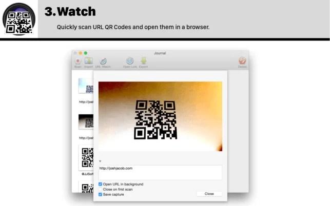 QR Code Reader for Mac