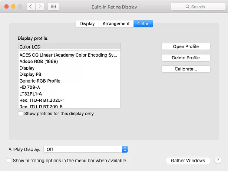 Blue Light Filter for Mac