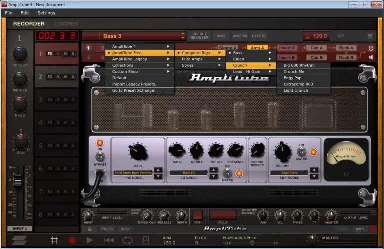 AmpliTube for Mac