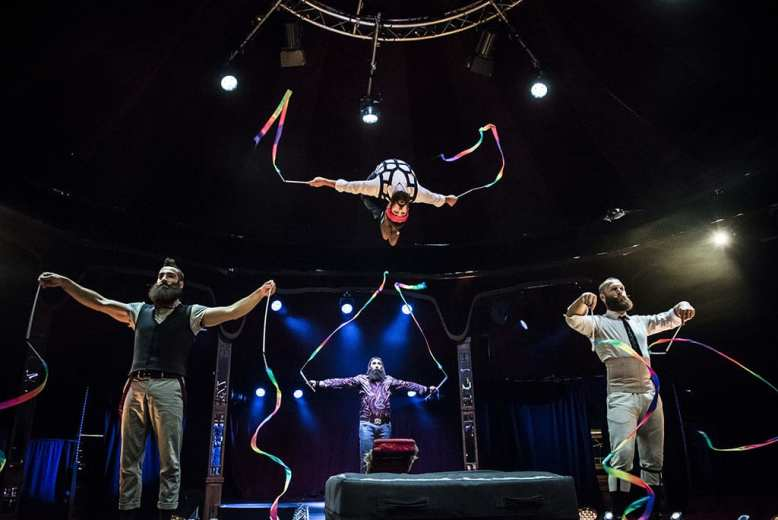 Cirque Alfonse in BARBU at the London Wonderground