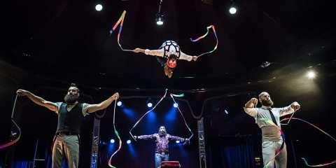 Cirque Alfonse in BARBU at the London Wonderground
