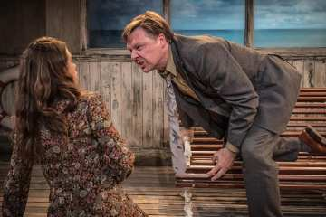 Lunch & The Bow of Ulysses at Trafalgar Studios 2 Photo Marc Brenner