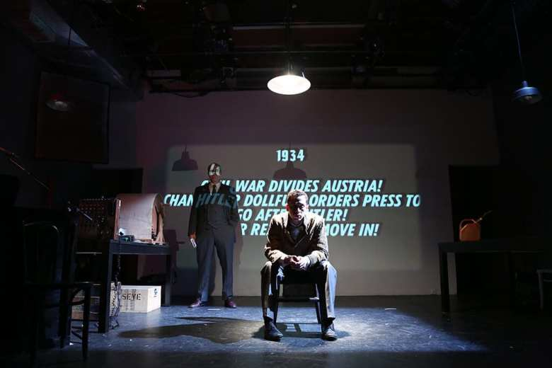 The Resistible Rise of Arturo Ui at The Wild Project, 195 East 3rd Street, Photo by Gerry Goodstein
