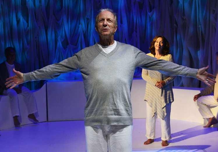Man in Snow, La Mama Experimental Theatre, New York
