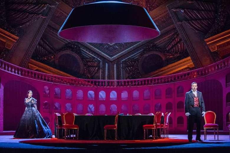 La Traviata © 2017 ROH. Photo Tristram Kenton