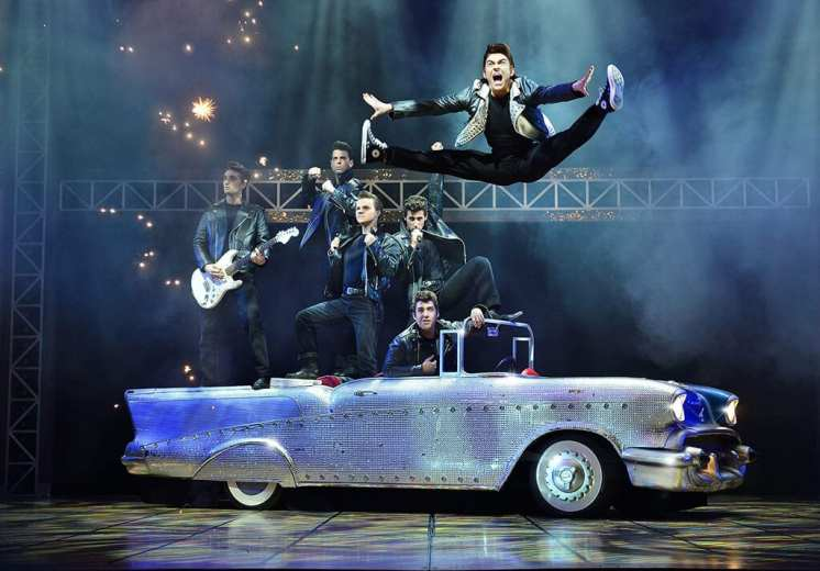 Grease: the Musical UK tour 2017