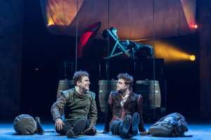 Rosencrantz & Guildenstern Are Dead at The Old Vic. Photos by Manuel Harlan