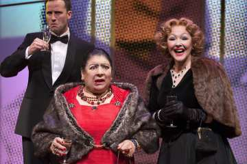 Madame Rubinstein at Park Theatre. Photo by Simon Annand