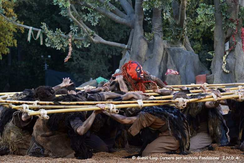 Sette contro Tebe Teatro Greco di Siracusa, Sicily