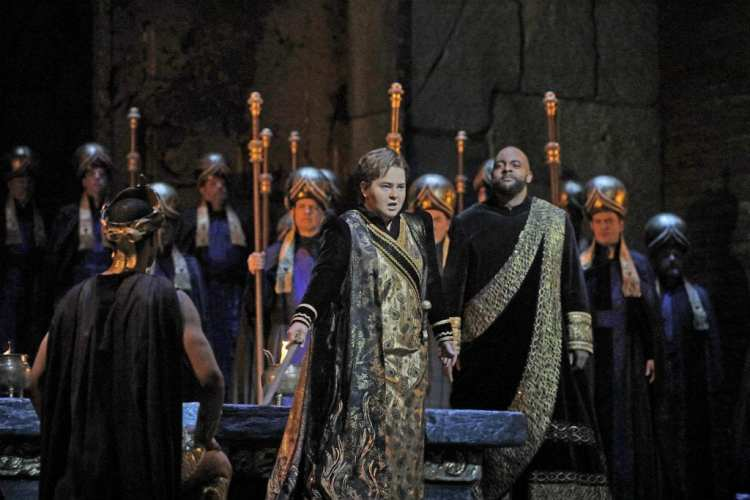 Rossini's Semiramide. Photo Ken Howard_Met Opera