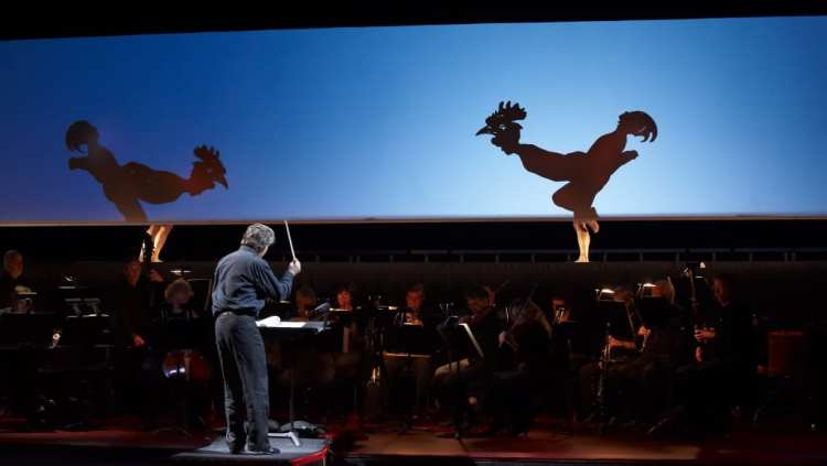 Canadian Opera Company's production of The Nightingale and Other Short Fables