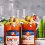 the best bloody marys (+ tips for a diy build your own bloody mary bar!)