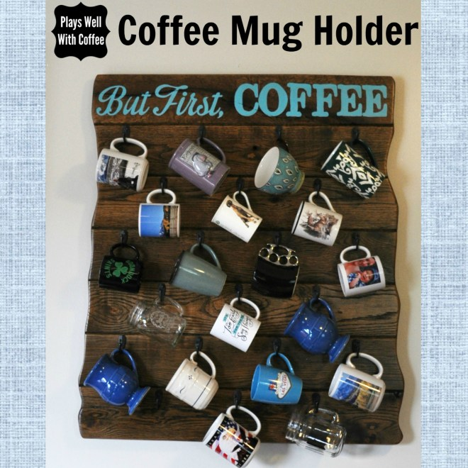 Coffee Mug Holder - Square