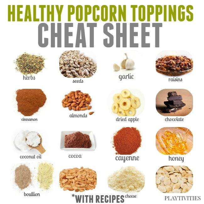 popcorn recipes with healthy twist