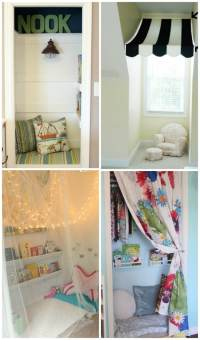 DIY Reading Nook Ideas For Kids - PLAYTIVITIES