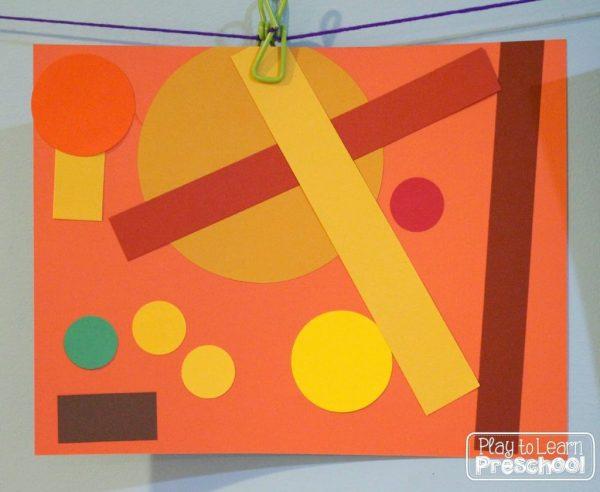 Picasso Shape Art Preschool
