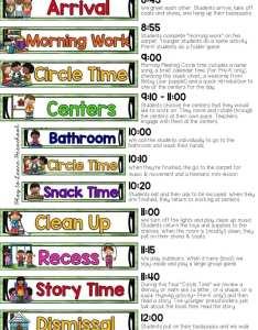 Sample half day preschool schedule also plus tips for creating your own rh playtolearnpreschool