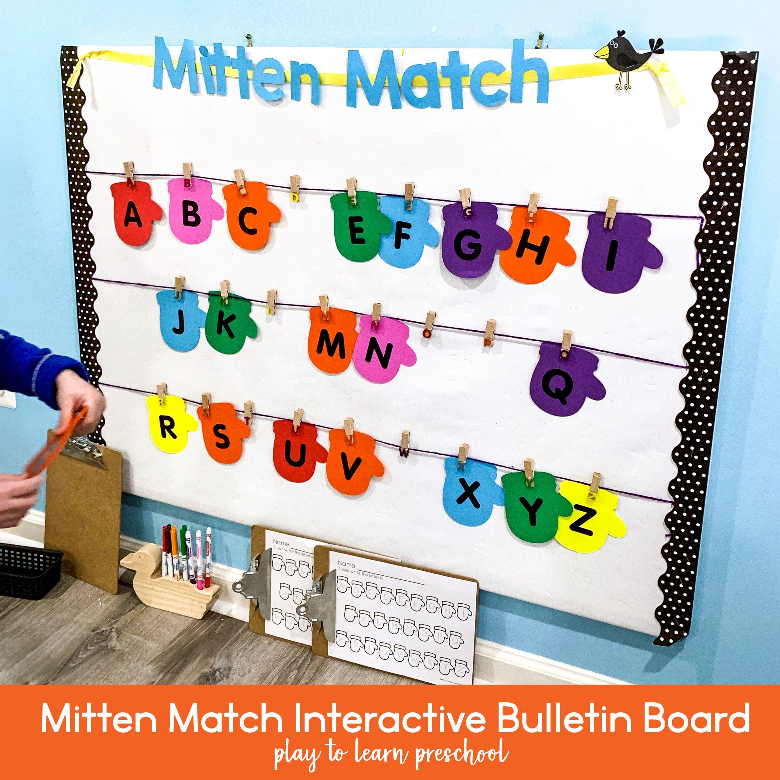 Winter Bulletin Board For Preschoolers