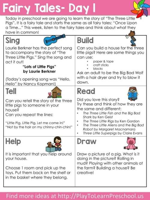 small resolution of Virtual Preschool Circle Time - Fairy Tales - Play to Learn
