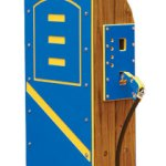 Wood playground wooden gas pump