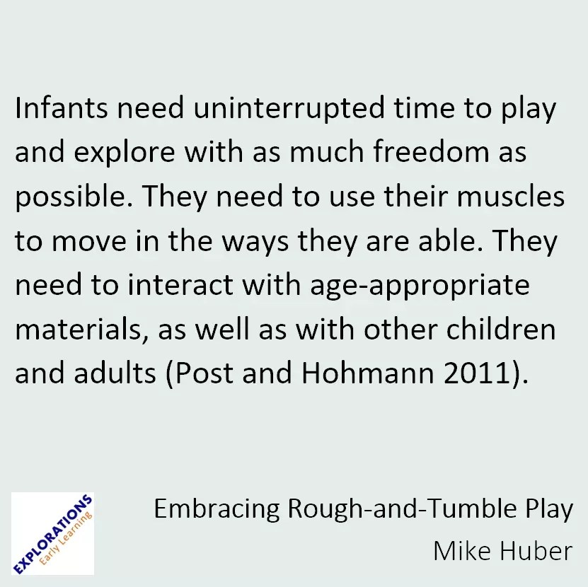 Embracing Rough And Tumble Play Quote 1929 Playvolution Hq