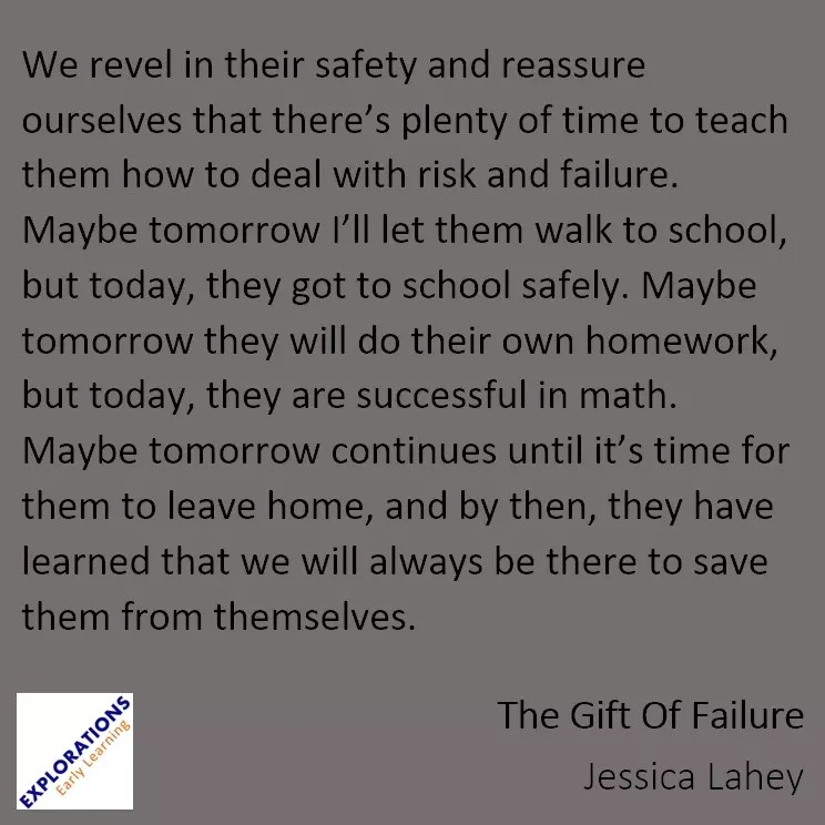 The Gift Of Failure Quote 2181 Playvolution Hq