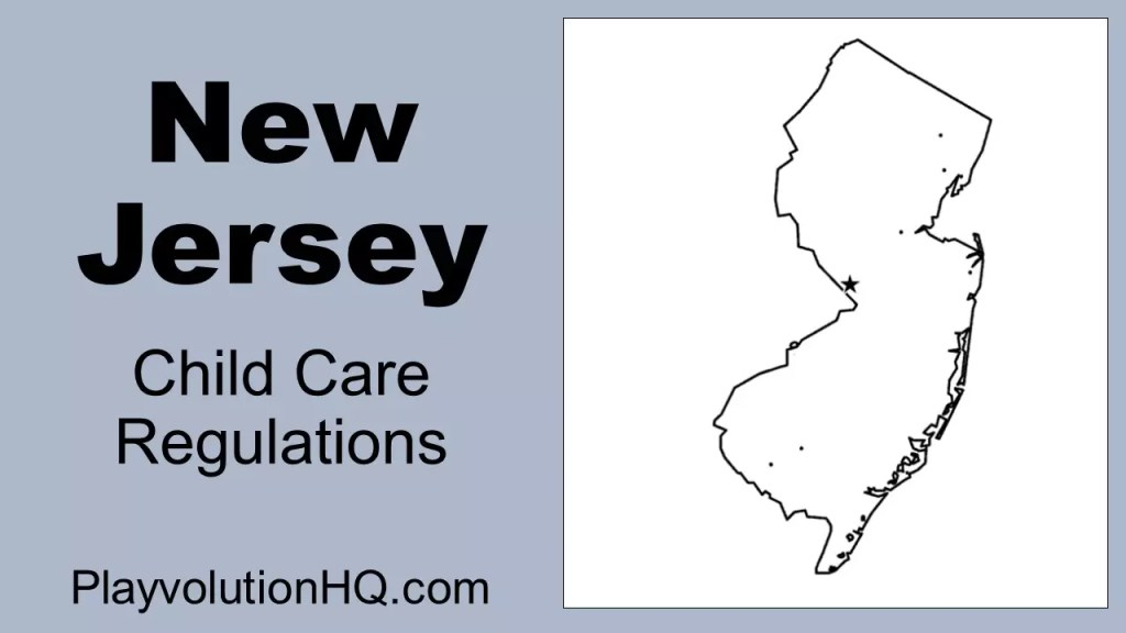 Licensing Regulations   New Jersey