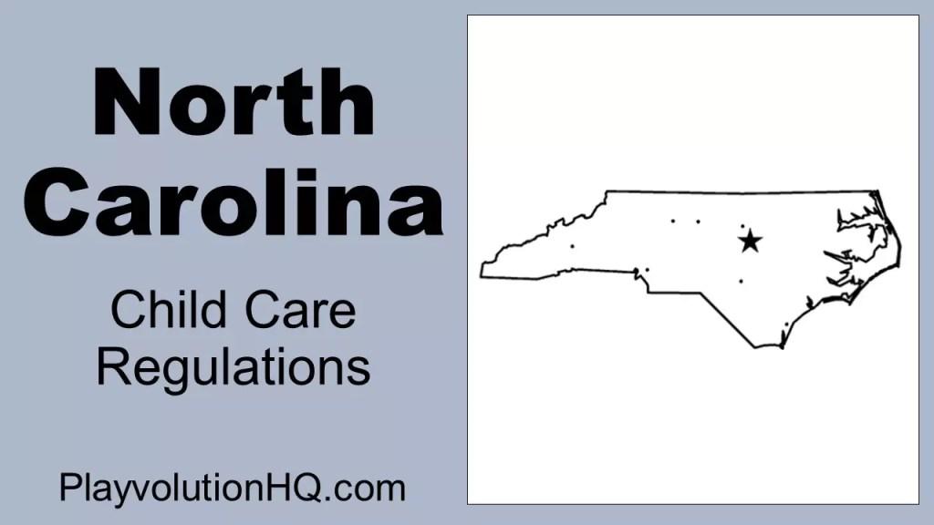 Licensing Regulations | North Carolina
