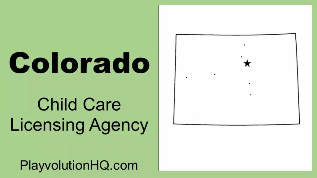 Licensing Agency | Colorado