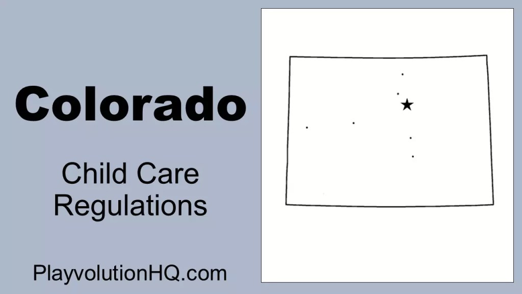 Licensing Regulations | Colorado