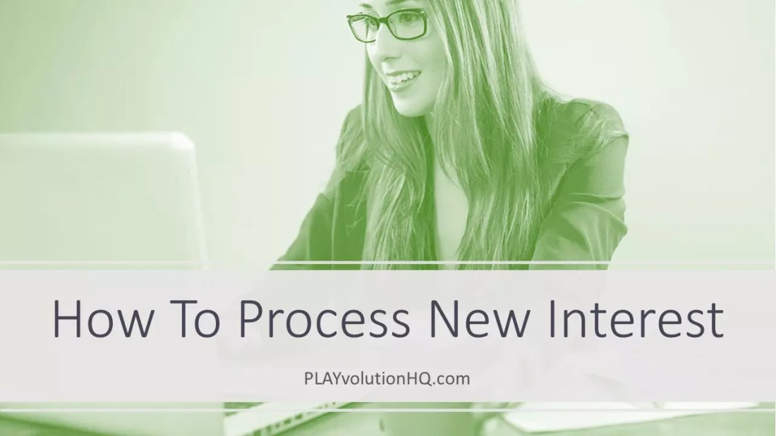 How To Process New Interest