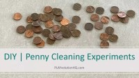 DIY | Penny Cleaning Experiments
