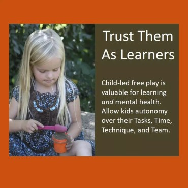 Trust Them As Learners Poster Download
