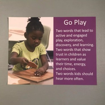 Go Play Poster