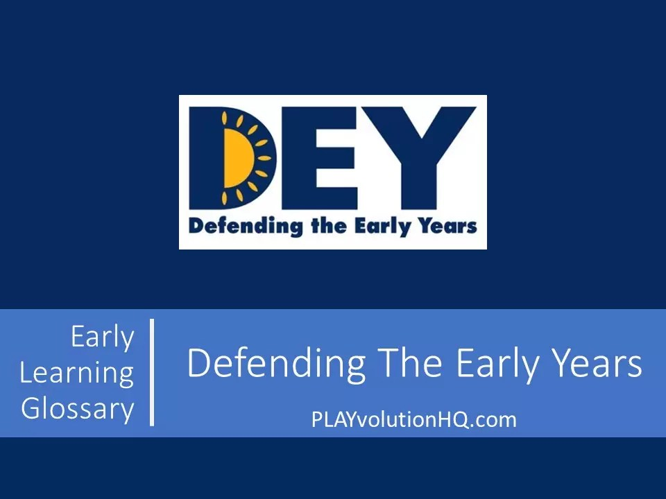 Defending The Early Years